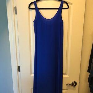 J Crew Silk Maxi Dress